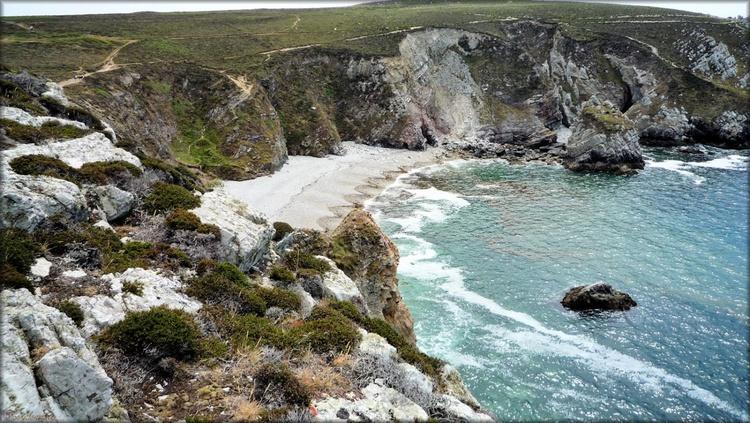 Photo de plage de la pointe de Dinan à Camaret