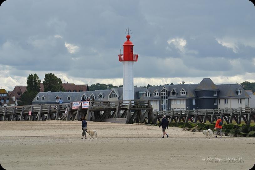 Trouville : Photos prises de la jetée