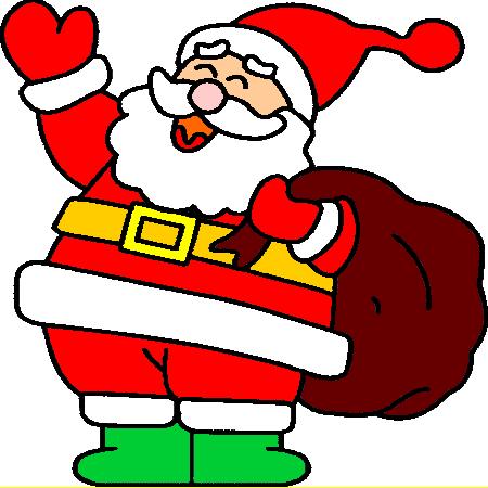 Dessin Pere Noel En Couleur Yutilis