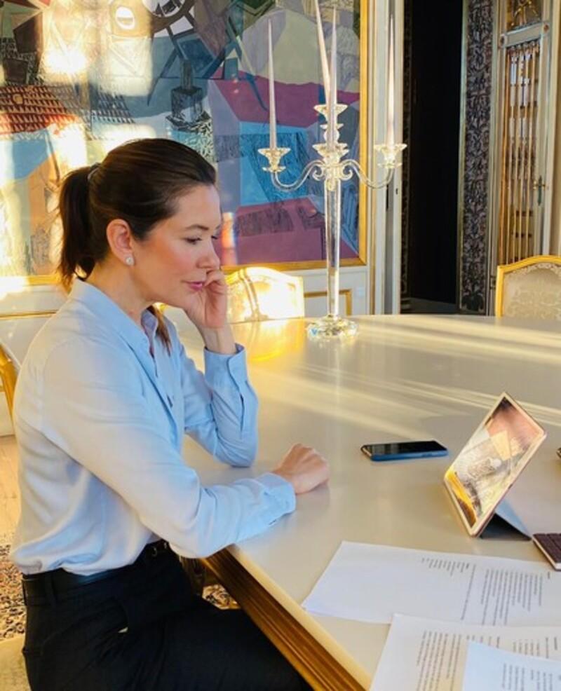 Digitalt møde med Mary Fondens ungepanel