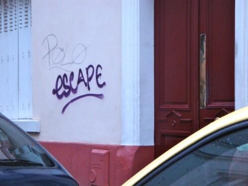 escape street-art Montmartre message 6