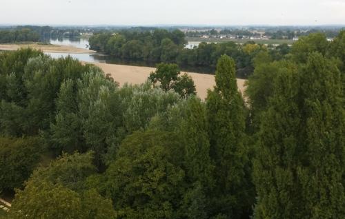 Paysages de Loire, vus de la Tour de Trèves