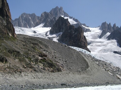 Le cirque glaciaire d'Argentière