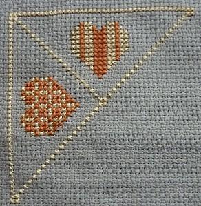 1er obj. biscornu coeur