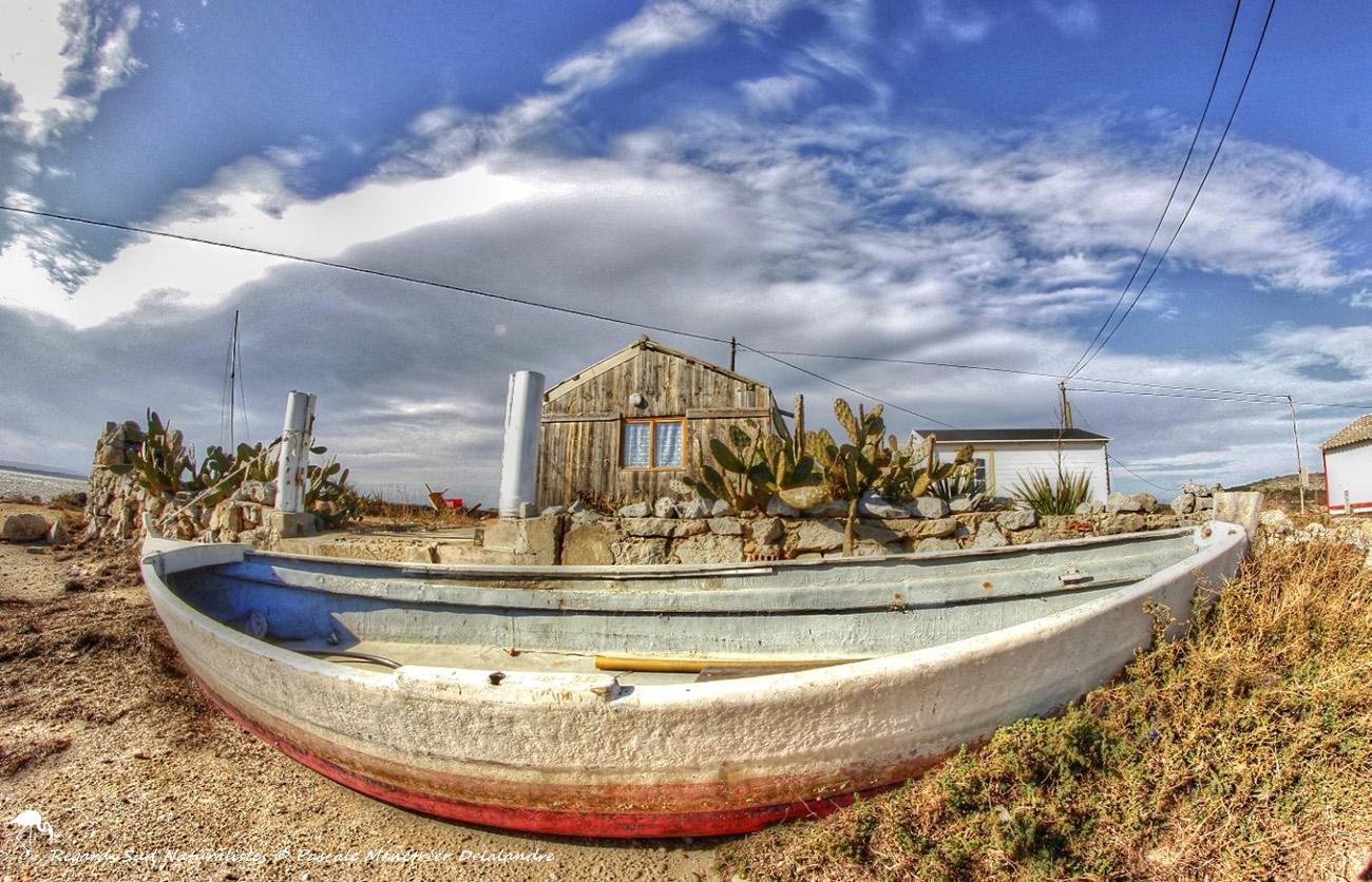 Cabanes des pêcheurs...
