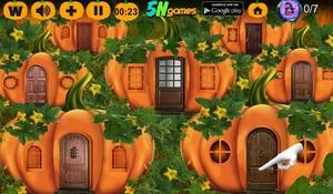 Jouer à Pumpkin house witch escape