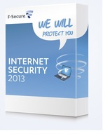 F-Secure Internet Security 2013 - Licence 2 x 90 jours