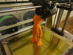 impression 3D,3d printing,leca philippe,philippe leca,corexy,homemade 3d printer,groot,baby groot