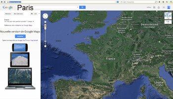 Installer google map
