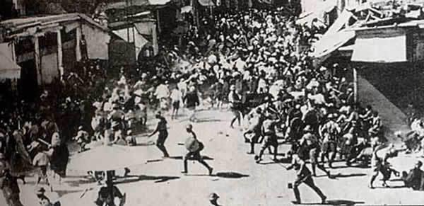 conflits en Palestine en 1936