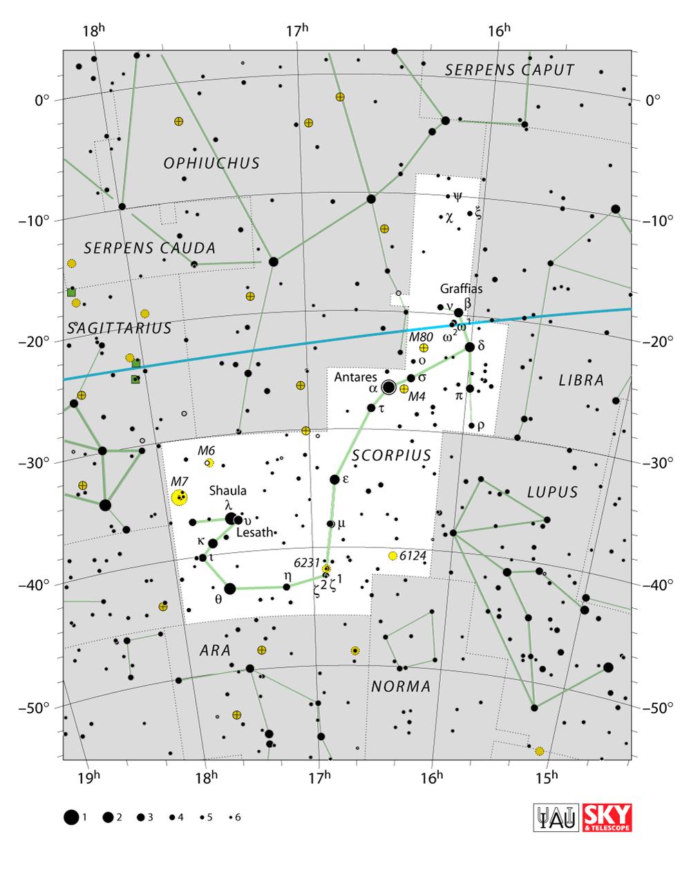 scorpius map