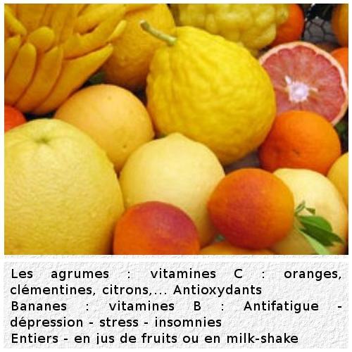 Aliments de défense immunitaire en hiver