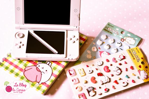 Une touche de Kawaii sur ma 3DS