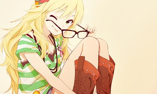 Image de anime, anime girl, and glasses
