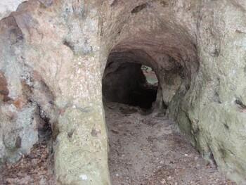 Le tunnel de St-Sumian