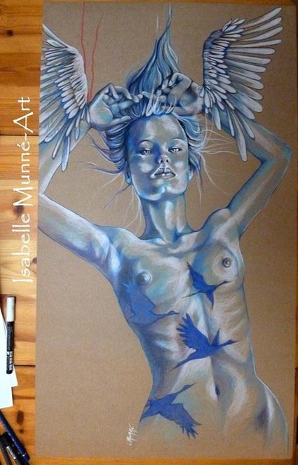 Coup de Cœur. Isabelle Munné. artiste Peintre. Chloé