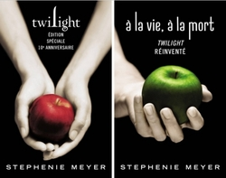 Twilight à la vie à la mort de Stephenie Meyer