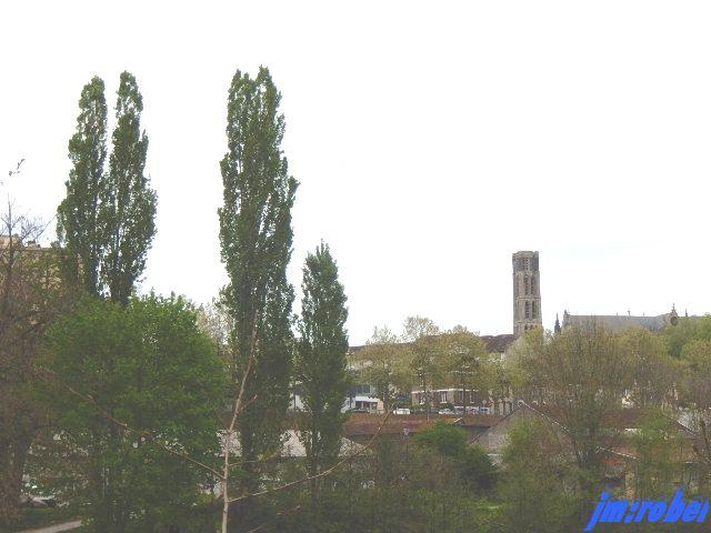 Limoges: le quartier des ponts et port du Naveix