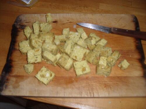 Ce soir, Riz frit aux petits légume et tofu!!