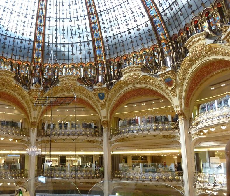 Coupole des galleries Lafayette