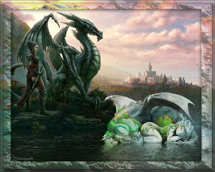 """*** Sujet """"Dragon"""" défi journalier du 25/09 ***"""