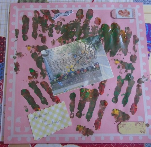 Page scrap plantation de printemps