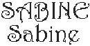 Dicton de la Ste Sabine + grille prénom !