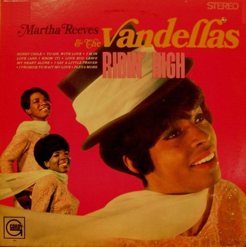 "Martha Reeves & The Vandellas : Album "" Ridin' High "" Gordy Records GLPS 926 [US]"