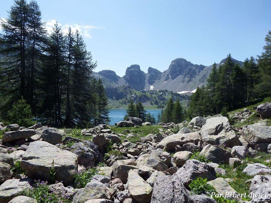 La rando pour aller au lac d'Allos (2)