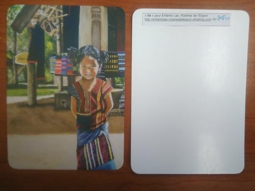 Cartes postales au profit de l'association