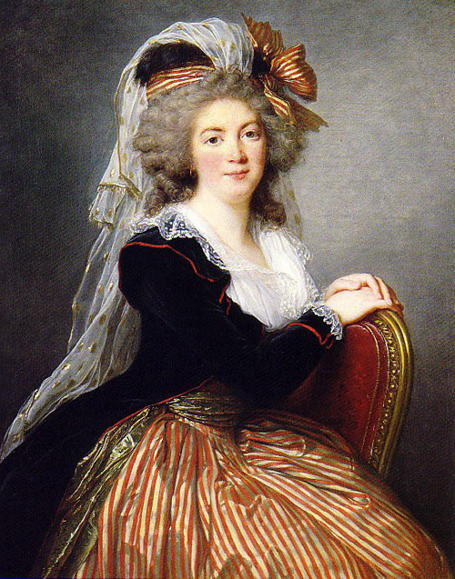 Bien-aimé Marie-Louise-Elisabeth VIGEE LEBRUN - Jardin Secret CR11