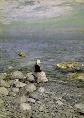 On the Shore of the Black Sea 1890s