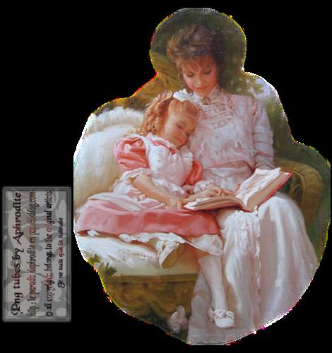 Tube Aphrodite Création (2015) - Mère et sa fille 10