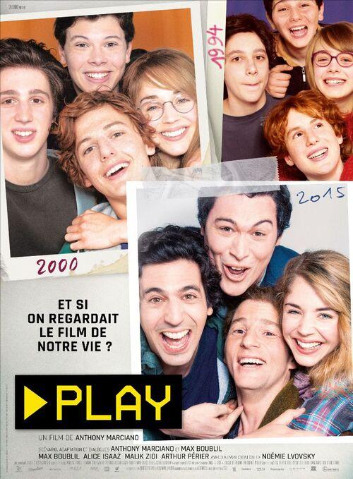 Découvrez la bande-annonce de PLAY, le film d'Anthony Marciano avec Max Boublil et Alice Isaaz !