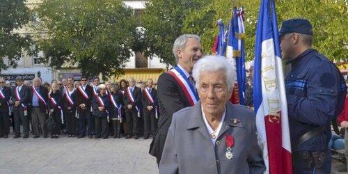 Frontignan : la Légion d'honneur pour une résistante