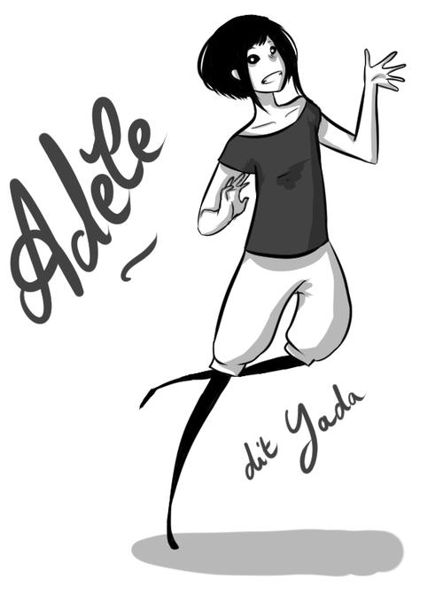 Dessin Adèle
