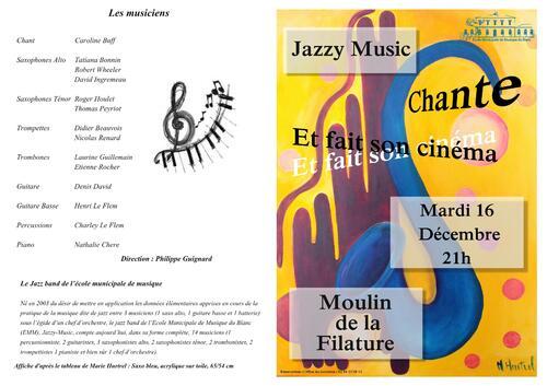 Le Big Band Jazzy Music au Moulin de la Filature