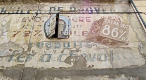 savon Fer à Cheval mur peint 4