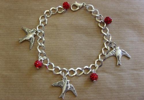 bracelet hirondelles
