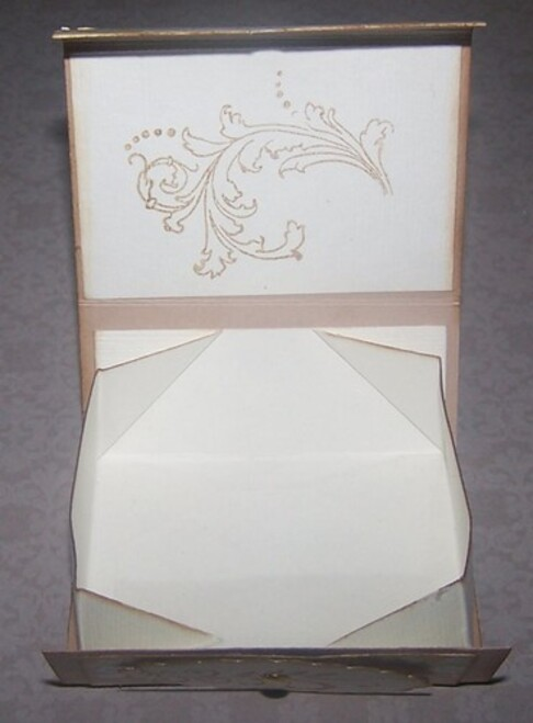 Une boîte Pliable
