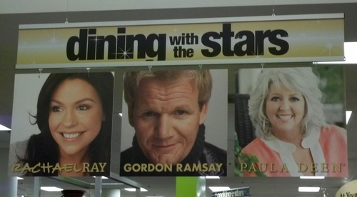 Les stars de la cuisine.