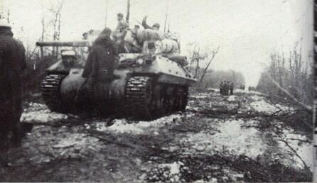 *Etape n° 39 - 23-30 janvier 1945 : la 2ème Brigage dans l'Illwald, le B.M. 21 et le R.F.M. dans les bois d'Ohnenheim