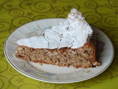 Blog de charlottopoire : Charlottopoire... mes petites créas..., Version gateau de la tarte aux amandes