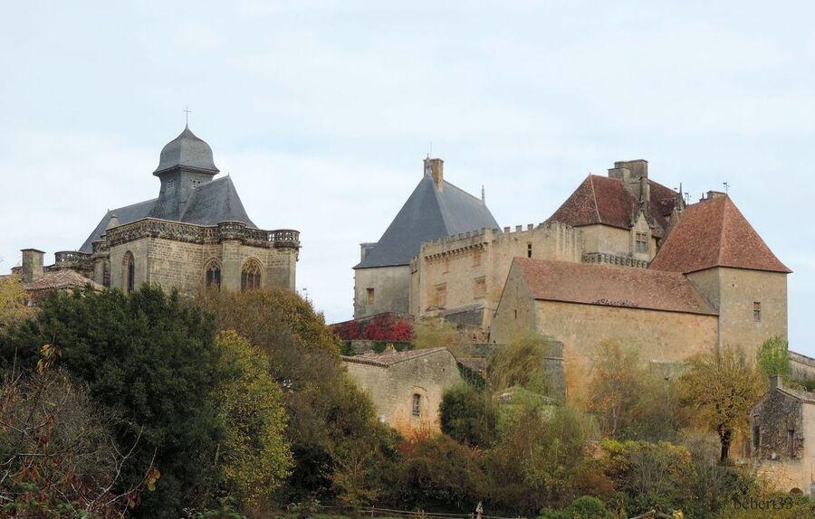 le Château de Biron dans le 47