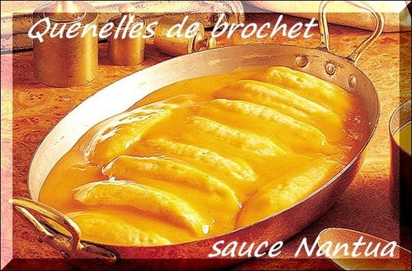 Quenelles de brochet sauce Nantua-19887ed8b58f6e077968a1ab2
