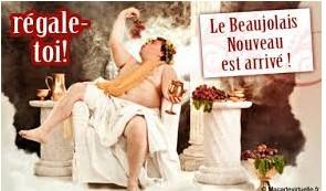 Le beaujolais nouveau est arrivé