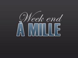 Week-end à 1 000