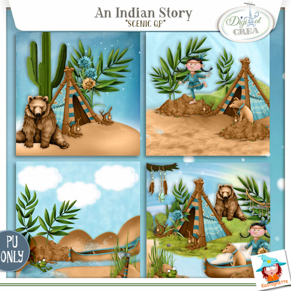 An Indian Story by Kastagnette