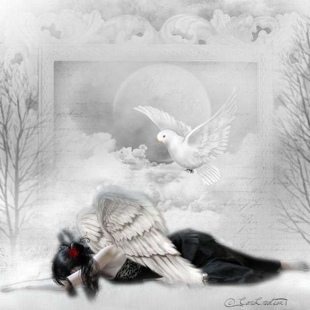 la tristesse de l'ange