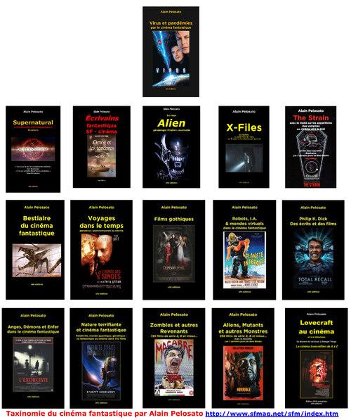 16 livres de taxinomie du cinéma fantastique